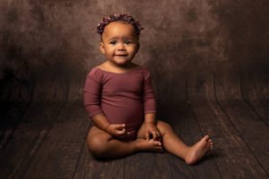 6 month sitting photoshoot Baby girl Medway Kent