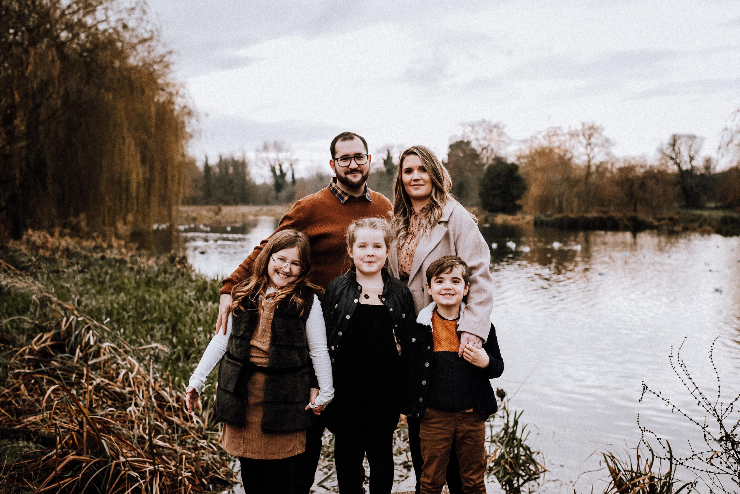 Family Photo of HAnnah Cornford. Family Photographer based in Rochester, Kent.