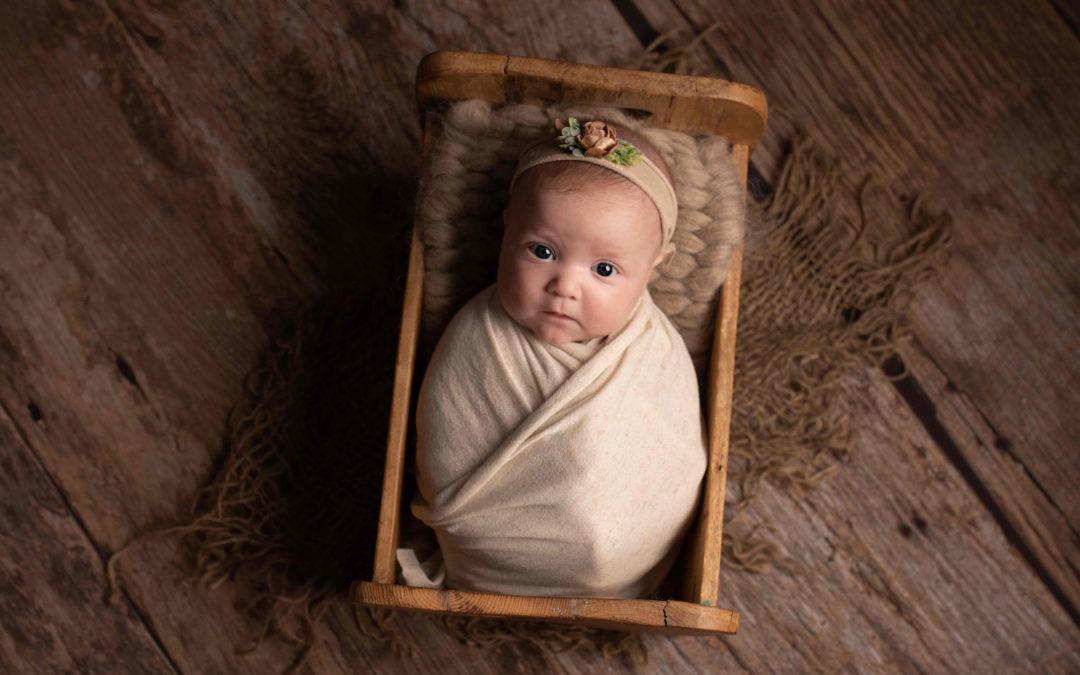 When to have newborn photos taken